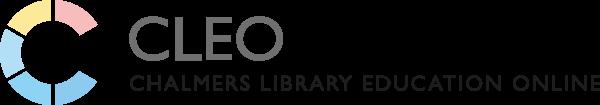 CLEO Logotyp Webb horisontell